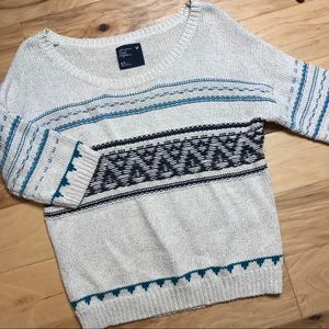 American Eagle Sz M heavy knit sweater